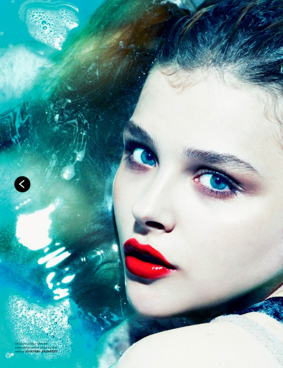 Chloe Moretz – Love Magazine -01