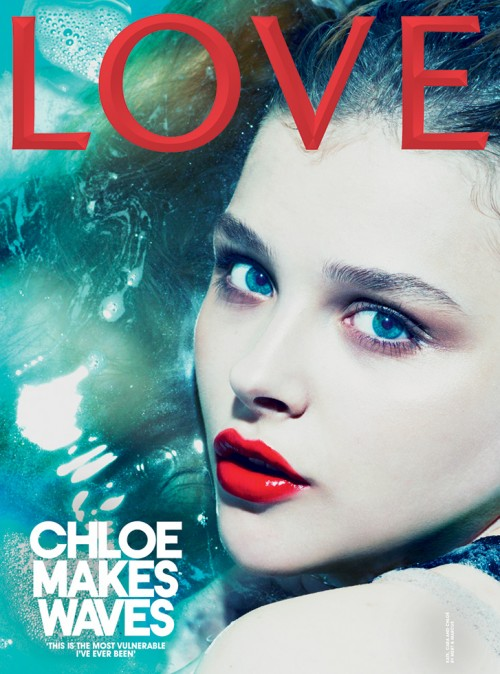 Chloe Moretz – Love Magazine -03
