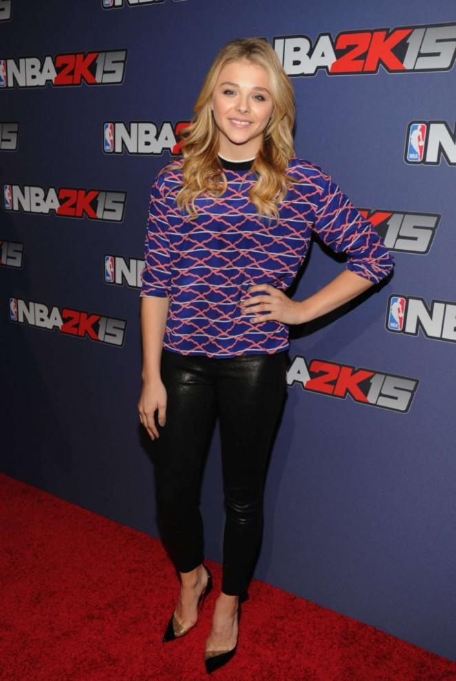 Chloe Moretz - NBA 2K15 Launch Celebration in NY