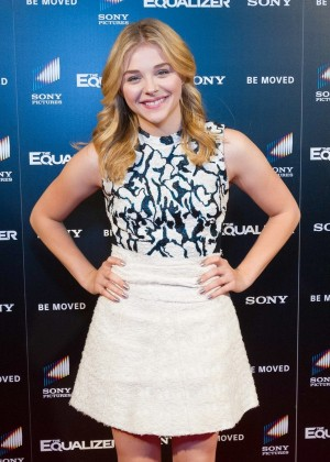"Chloe Moretz - ""The Equalizer"" at AMC Phipps Plaza in Atlanta, Georgia"