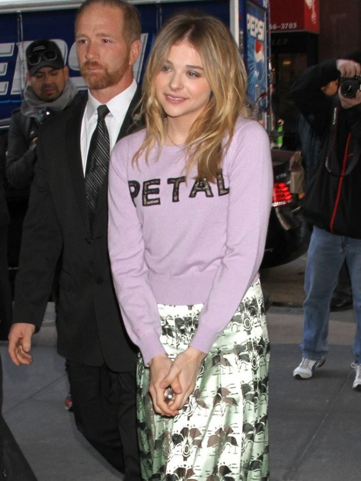 Chloe Moretz at The Today Show in PETA Outfit -03