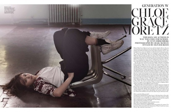 Chloe Moretz – W Magazine (October 2013) -02