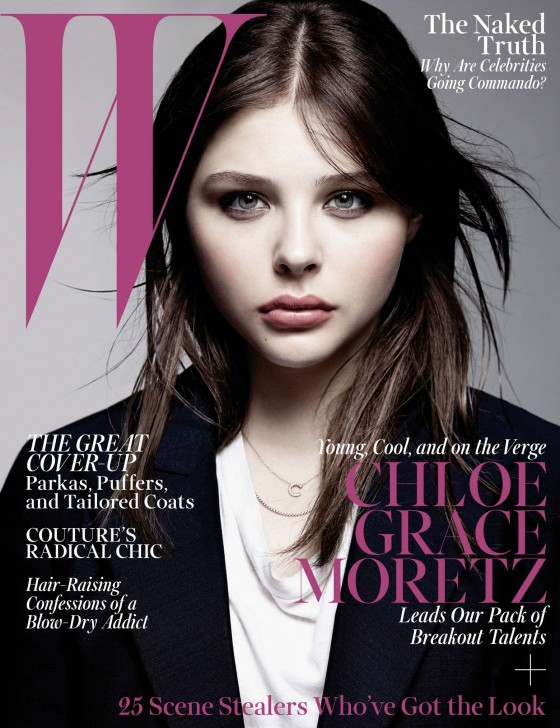 Chloe Moretz – W Magazine (October 2013) -06