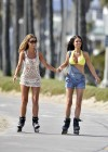 Chloe Sims and Lauren Pope - Skating In Hollywood