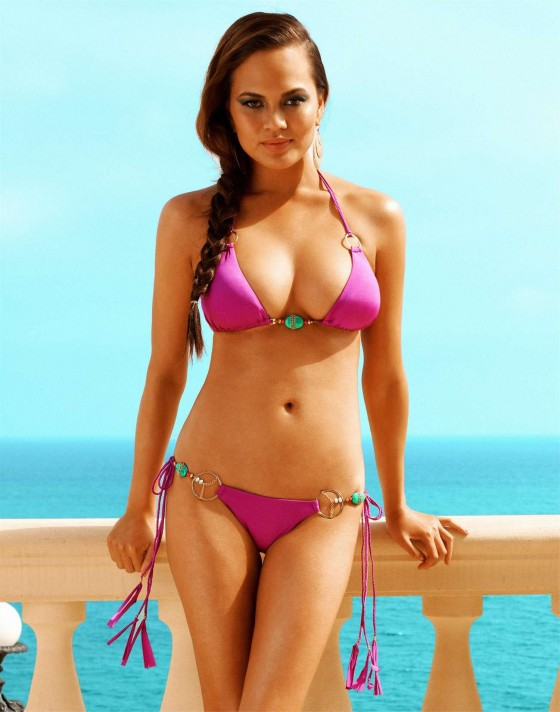 Chrissy Teigen - 2012 Beach Bunny Photoshoot