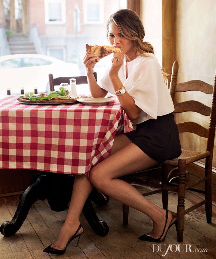 Chrissy Teigen – DuJour Magazine (Fall 2014)