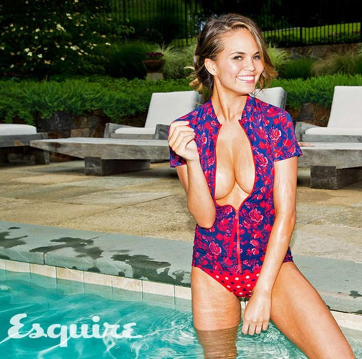 Chrissy Teigen 2014 : Chrissy Teigen: Esquire 2014 -07