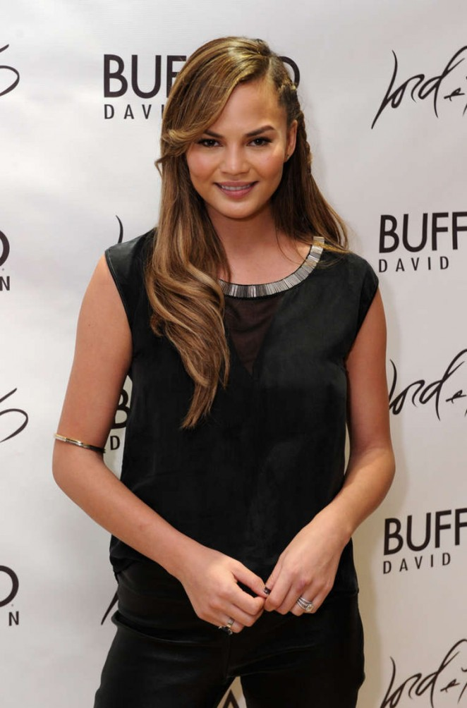 Chrissy Teigen – Lord & Taylor Flagship Guys' Night Out 2014 in NYC