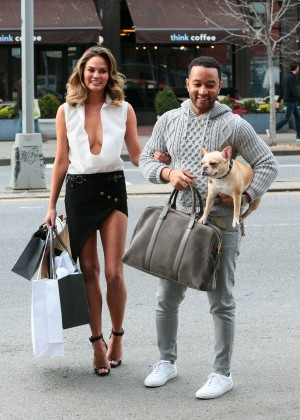 Chrissy Teigen: Photoshoot in NY -01