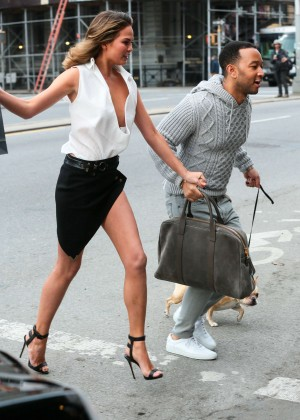 Chrissy Teigen: Photoshoot in NY -10