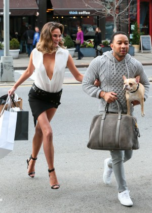 Chrissy Teigen: Photoshoot in NY -14