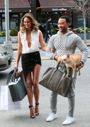 Chrissy Teigen: Photoshoot in NY -15