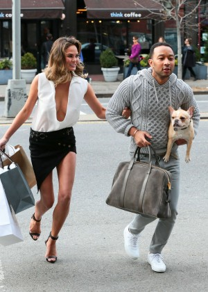Chrissy Teigen: Photoshoot in NY -17