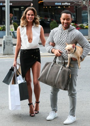 Chrissy Teigen: Photoshoot in NY -21