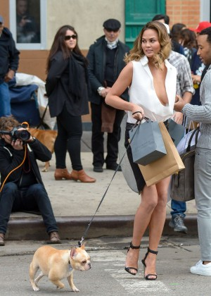 Chrissy Teigen: Photoshoot in NY -22