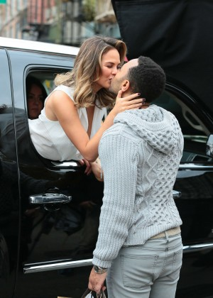 Chrissy Teigen: Photoshoot in NY -23