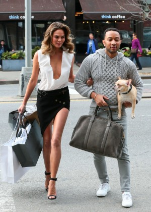 Chrissy Teigen: Photoshoot in NY -24