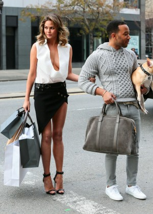 Chrissy Teigen: Photoshoot in NY -26