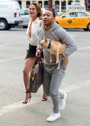 Chrissy Teigen: Photoshoot in NY -29