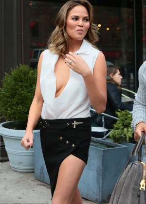 Chrissy Teigen: Photoshoot in NY -32