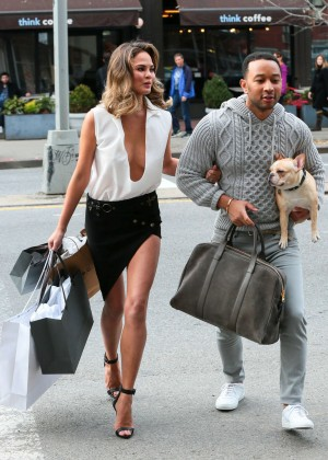 Chrissy Teigen: Photoshoot in NY -34