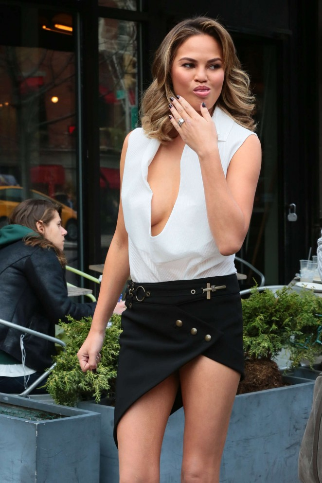 Chrissy Teigen: Photoshoot in NY -35