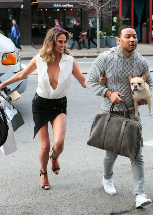 Chrissy Teigen: Photoshoot in NY -37
