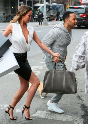 Chrissy Teigen: Photoshoot in NY -40
