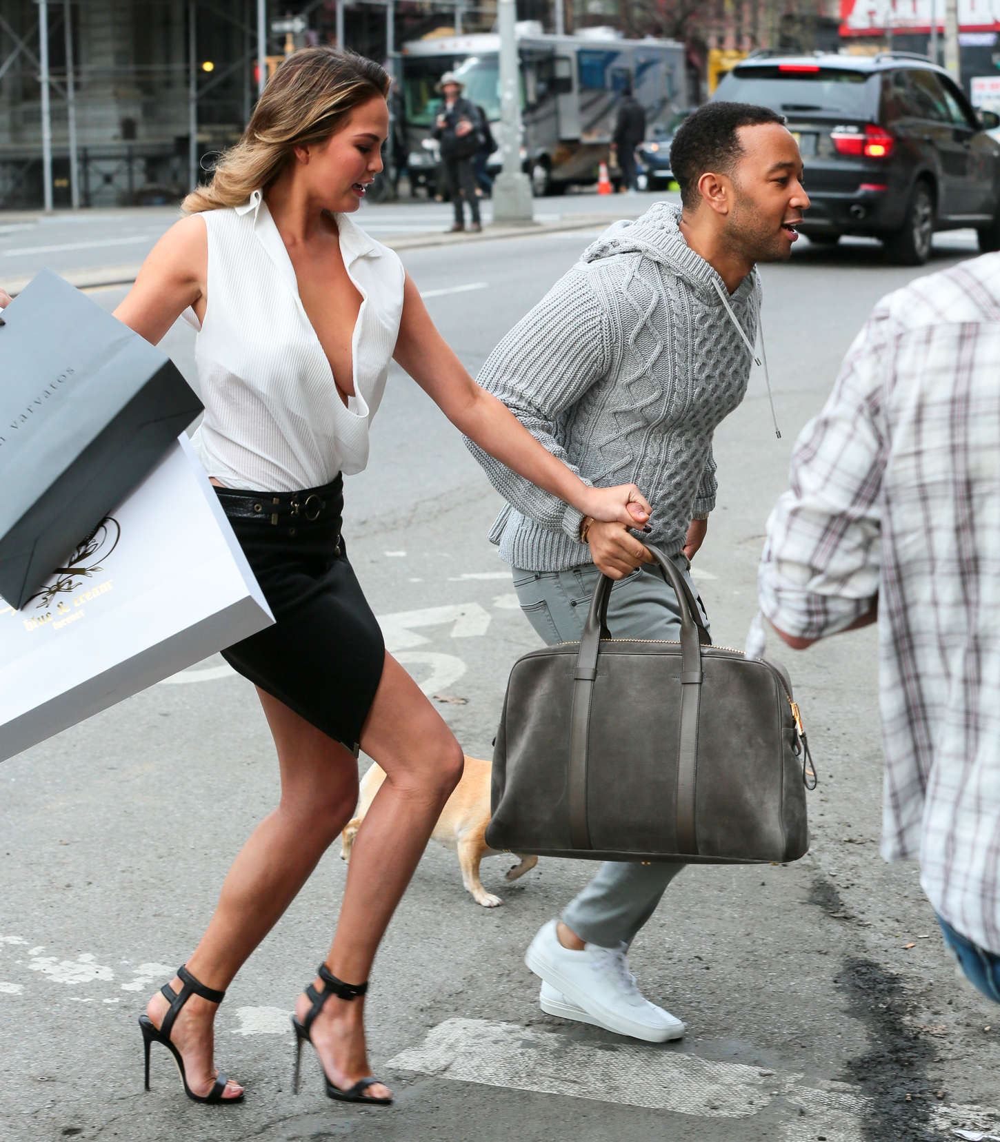 Chrissy Teigen 2014 : Chrissy Teigen: Photoshoot in NY -40
