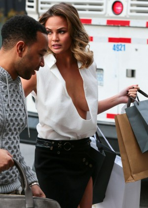 Chrissy Teigen: Photoshoot in NY -41
