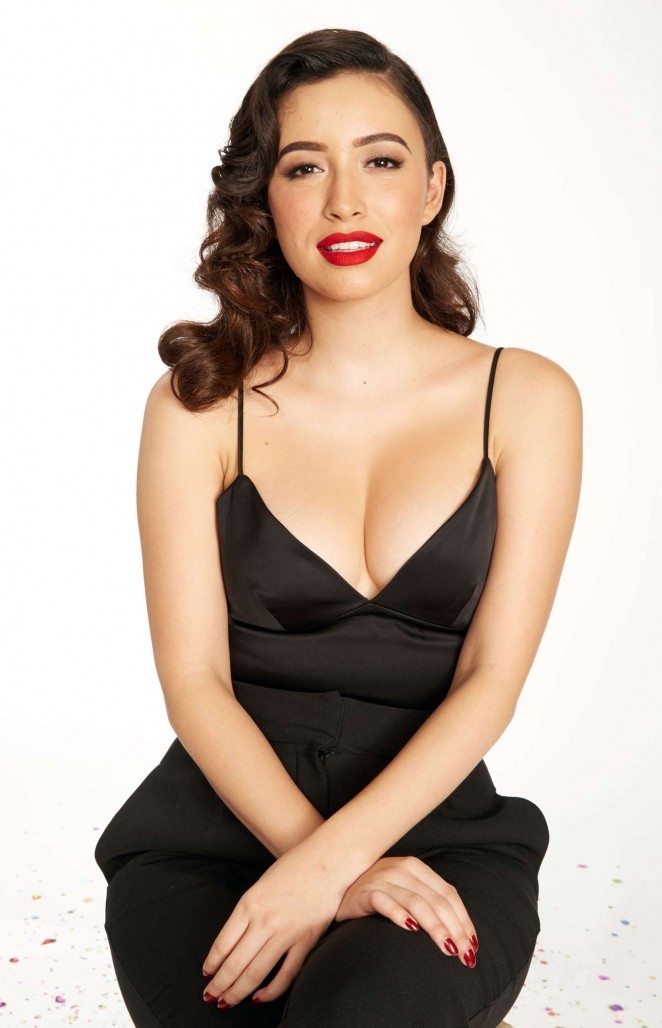 Christian Serratos - KIIS FM's Jingle Ball 2014 Portraits