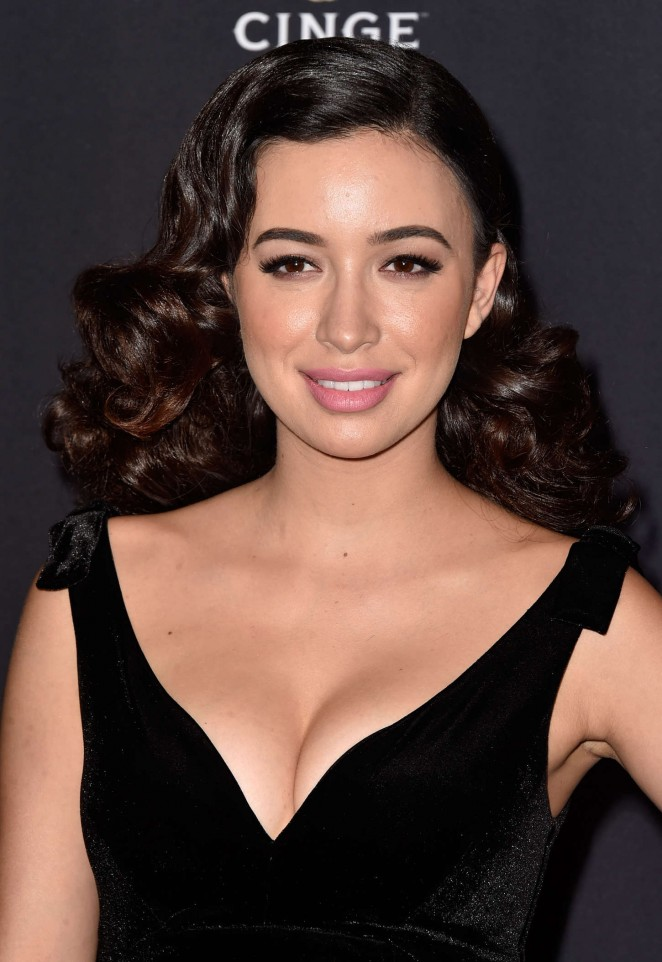 "Christian Serratos - ""The Walking Dead"" Season Five Premiere in Universal City"