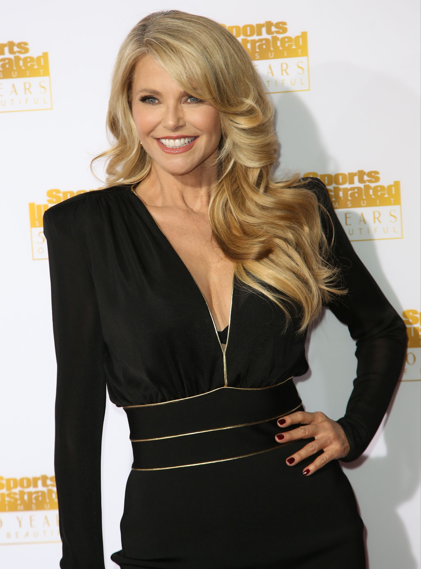 Christie Brinkley 2014 Si Swimsuit Issue Celebration 05