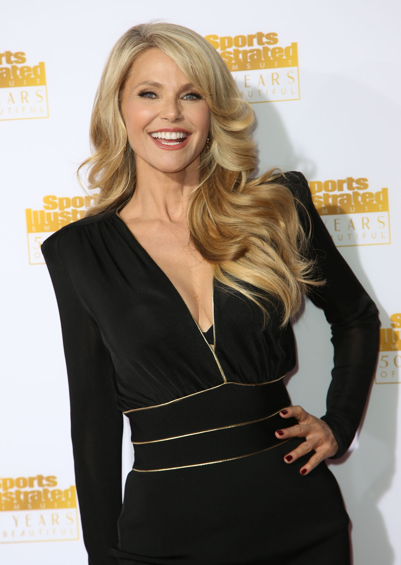 Christie Brinkley 2014 Si Swimsuit Issue Celebration 08