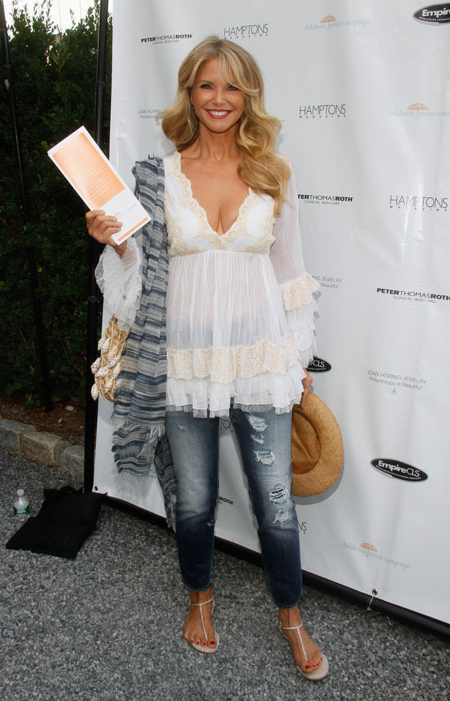 Christie Brinkley at the Celebration of The Children's Justice Campaign in NY