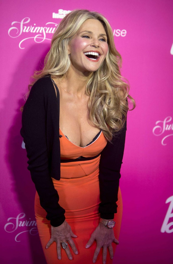 Christie Brinkley – Sports Illustrated Swimsuit 50th Anniversary Party