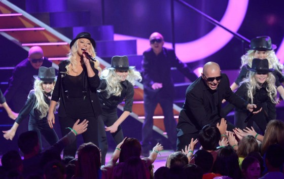 Christina Aguilera – 2013 Kids Choice Awards -05