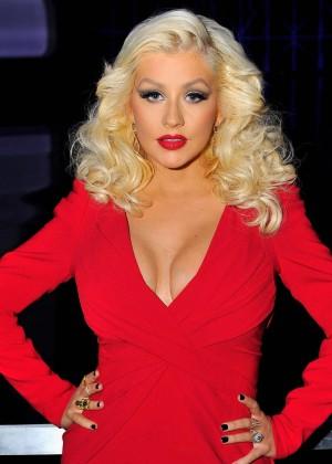 Christina Aguilera - Breakthrough Prize Awards Ceremony in Mountain View