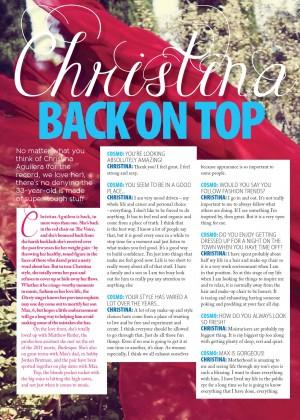 Christina Aguilera: Cosmopolitan Magazine -01
