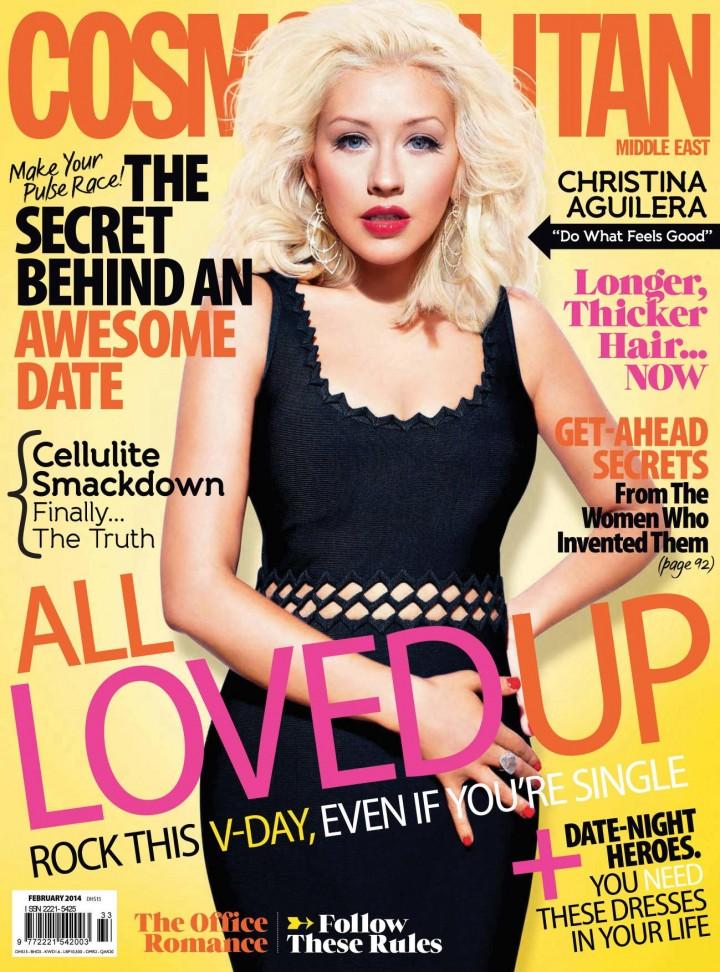Christina Aguilera: Cosmopolitan Magazine -02