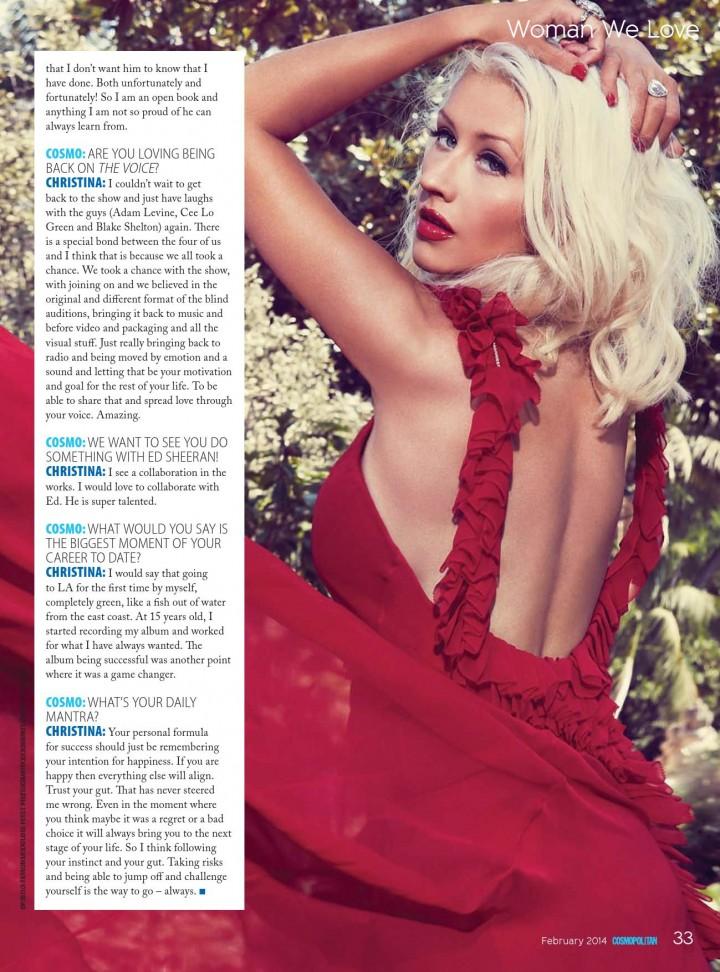 Christina Aguilera: Cosmopolitan Magazine -03