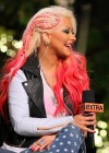 Christina Aguilera - Extra at The Grove in LA-06