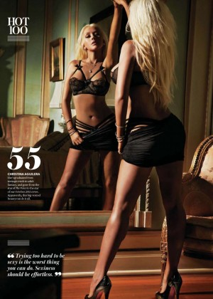 Christina Aguilera - Maxim India (November 2014)