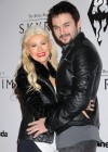 Christina Aguilera - Candids at The Elder Scrolls V party in LA-03