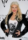 Christina Aguilera - Candids at The Elder Scrolls V party in LA-04