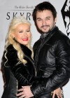 Christina Aguilera - Candids at The Elder Scrolls V party in LA-06