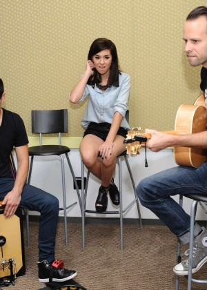 Christina Grimmie at Radio Disney -10