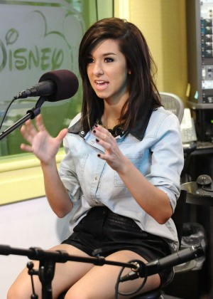 Christina Grimmie at Radio Disney -12