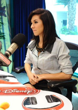 Christina Grimmie at Radio Disney -22