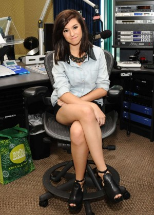 Christina Grimmie at Radio Disney -23